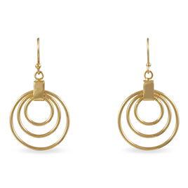 Boucles D'oreilles Pendantes Ylena Plaque Or Jaune - Boucles d'oreilles fantaisie Femme | Histoire d'Or
