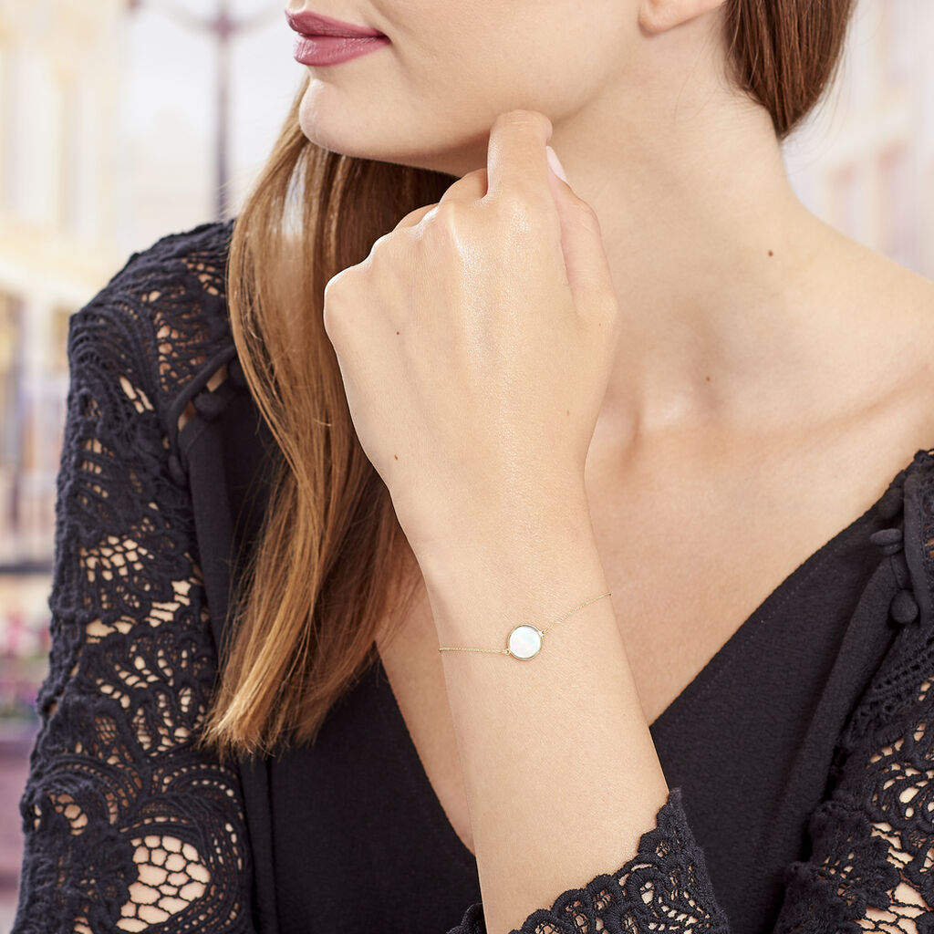 Bracelet Joana Or Jaune Nacre - Bijoux Femme | Histoire d'Or