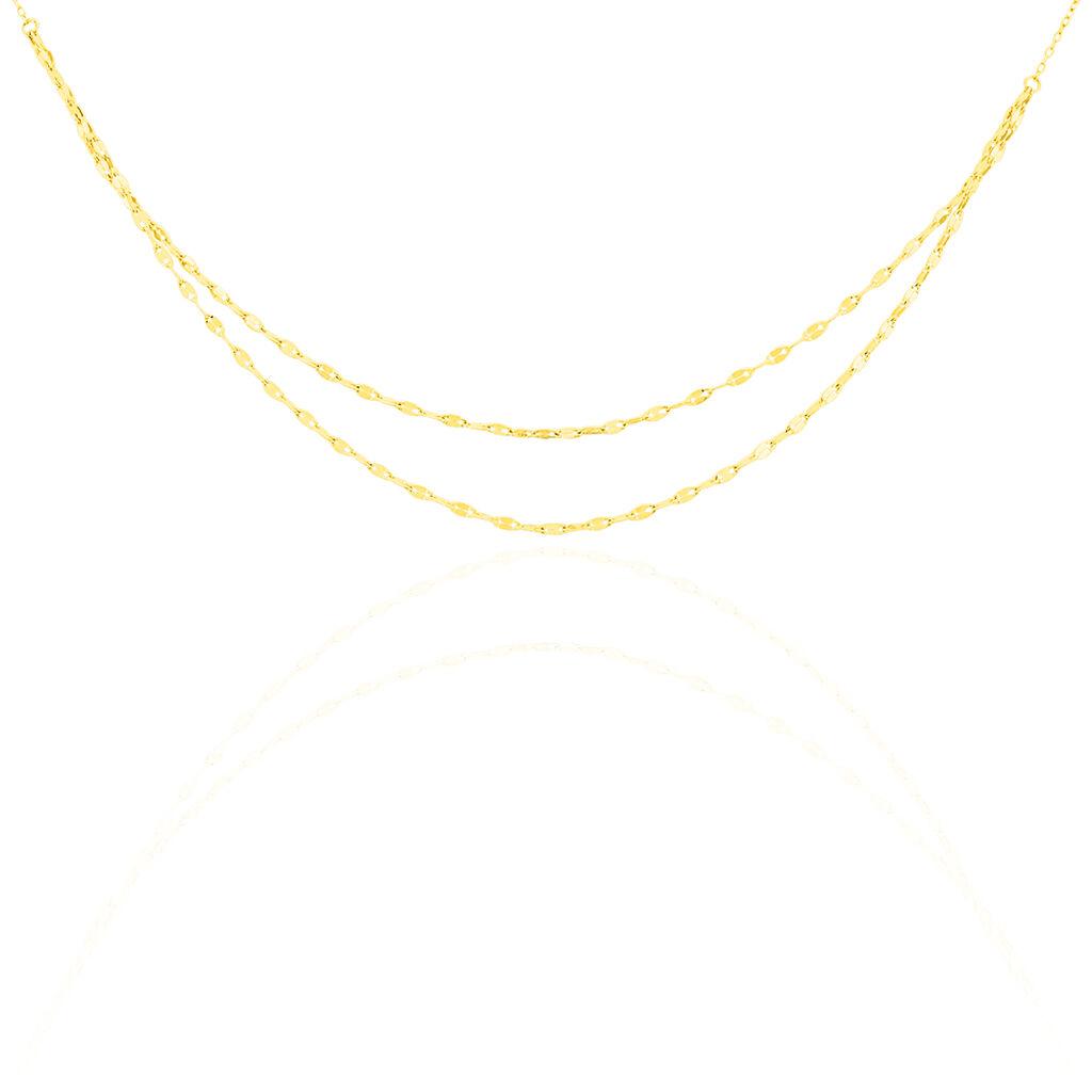 Collier Clareto Or Jaune - Chaines Femme   Histoire d'Or