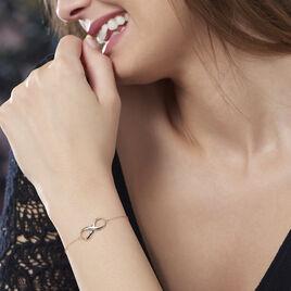 Bracelet Infini Huit Or Jaune - Bracelets Infini Femme | Histoire d'Or