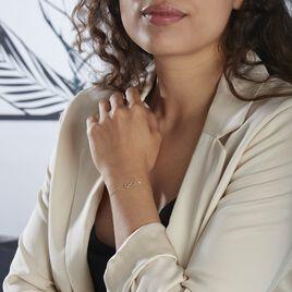 Bracelet Or Jaune Carya - Bracelets Infini Femme   Histoire d'Or