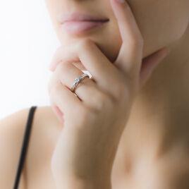 Bague Solitaire Tahyna Or Blanc Diamant - Bagues solitaires Femme   Histoire d'Or