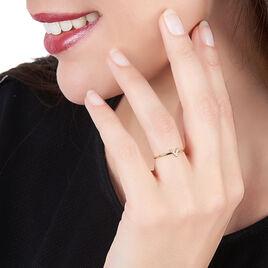 Bague De Phalange Celene Or Jaune Oxyde De Zirconium - Bagues Femme   Histoire d'Or