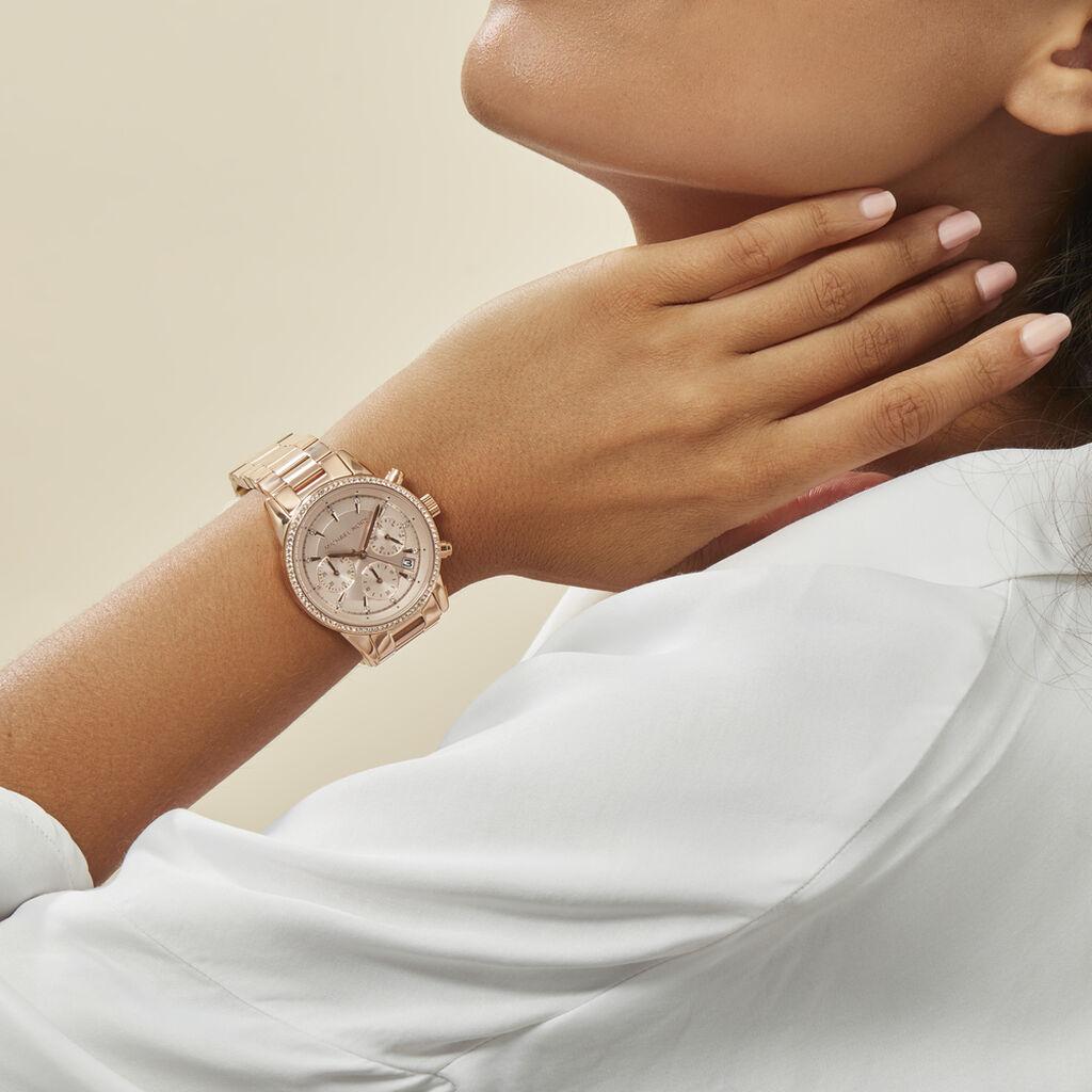 Montre Michael Kors Ritz Rose - Montres tendances Femme | Histoire d'Or