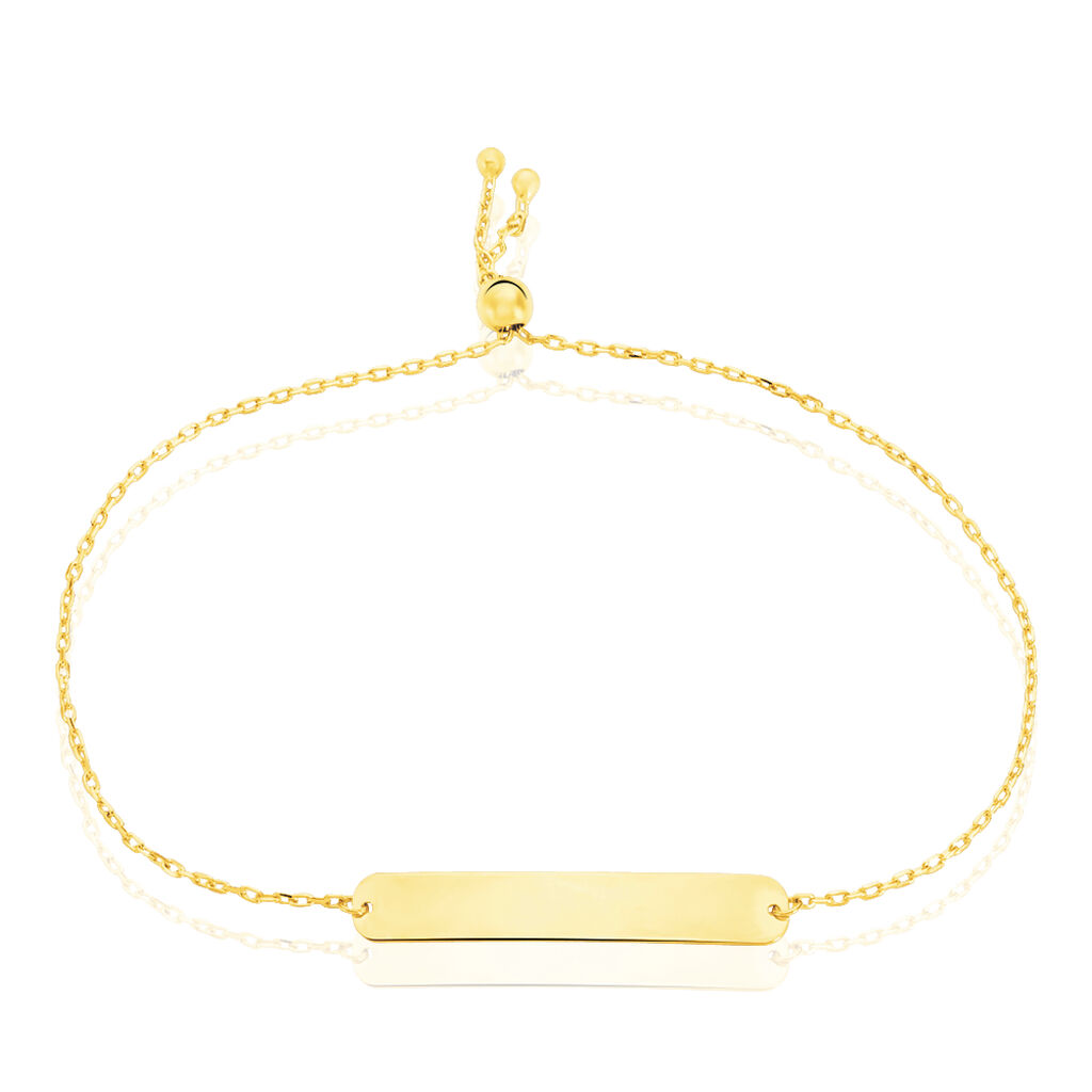 Bracelet Identité Peronille Or Jaune - Gourmettes Femme | Histoire d'Or