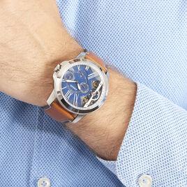 Montre Fossil Grant Twist Bleu - Montres automatiques Homme | Histoire d'Or