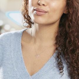 Collier Marineta Or Jaune Oxyde De Zirconium - Colliers Coeur Femme | Histoire d'Or