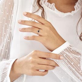 Bague Or Blanc Camilia Saphir - Bagues solitaires Femme | Histoire d'Or