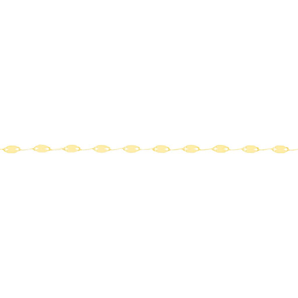 Chaîne De Cheville Zaig Or Jaune - Chaînes de cheville Femme   Histoire d'Or