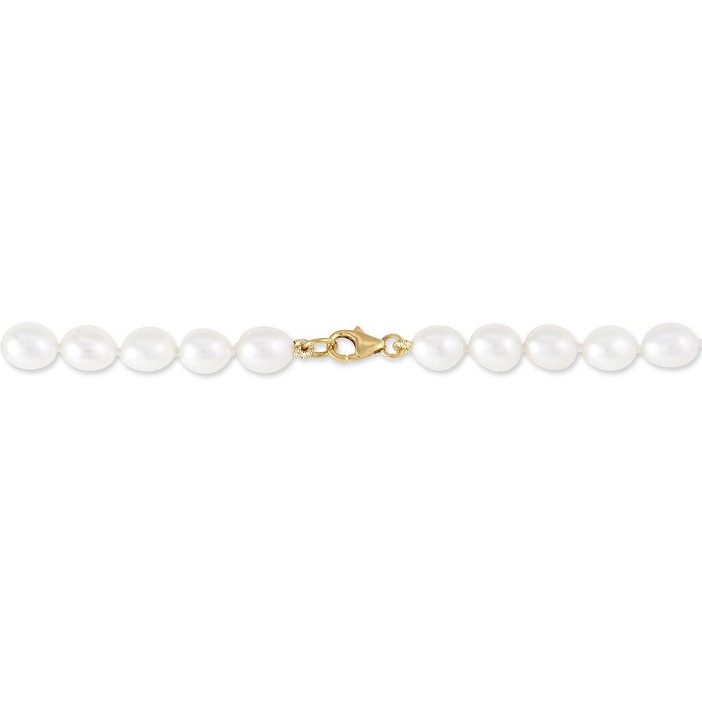 Collier Giustina Or Jaune Perle De Culture - Bijoux Femme | Histoire d'Or