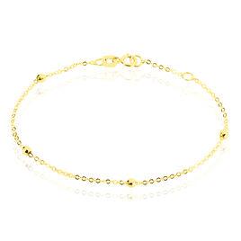 Bracelet Chaine Boules Alternees Or Jaune - Bracelets Naissance Enfant | Histoire d'Or