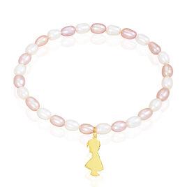 Bracelet Rocio Or Jaune Perle De Culture - Bijoux Femme   Histoire d'Or