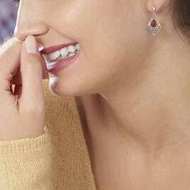Boucles D'oreilles Argentgouttes Ambre - Boucles d'oreilles fantaisie Femme | Histoire d'Or