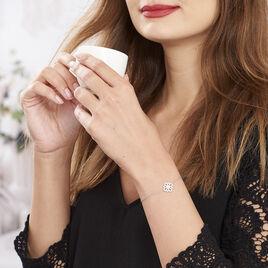 Bracelet Katialina Argent Blanc Oxyde De Zirconium - Bracelets fantaisie Femme | Histoire d'Or
