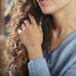 Bracelet Or Jaune Calluna - Bijoux Femme | Histoire d'Or