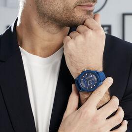 Montre Armani Exchange Outerbanks Bleu - Montres Homme | Histoire d'Or