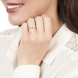 Bague Solitaire Aramis Or Blanc Diamant - Bagues solitaires Femme   Histoire d'Or