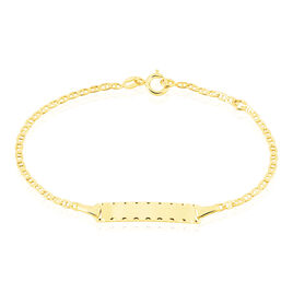 Bracelet Identite Bebe Or Jaune Estela - Bracelets Communion Enfant | Histoire d'Or
