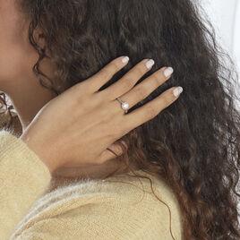 Bague Hannia Argent Blanc Perle D'imitation - Bagues avec pierre Femme   Histoire d'Or