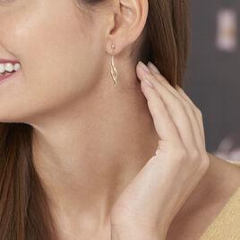 Boucles D'oreilles Or Jaune Pendantes - Boucles d'oreilles pendantes Femme | Histoire d'Or