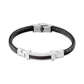 Bracelet Mathieu Acier Blanc - Bracelets fantaisie Homme   Histoire d'Or