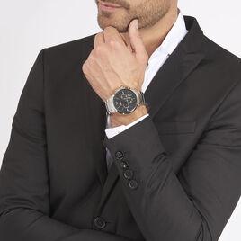 Montre Emporio Armani Renato Noir - Montres tendances Homme | Histoire d'Or