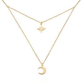 Collier Ara Plaque Or Jaune - Colliers Etoile Femme | Histoire d'Or