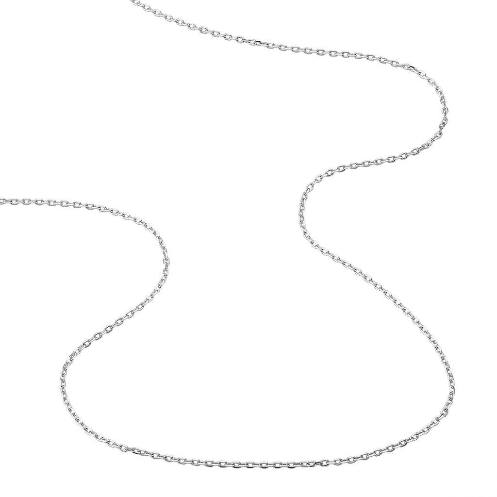 Chaîne Diamantee Or Blanc - Chaines Unisexe | Histoire d'Or