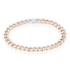 Bracelet Argent Rose Scylla - Bracelets chaîne Femme | Histoire d'Or