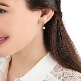 Bijoux D'oreilles Madeline Or Jaune Perle De Culture - Ear cuffs Femme   Histoire d'Or