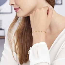 Bracelet Izar Torsadee Or Jaune - Bijoux Femme | Histoire d'Or