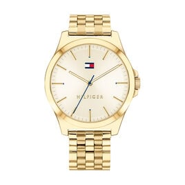 Montre Tommy Hilfiger Barclay Champagne - Montres Homme | Histoire d'Or