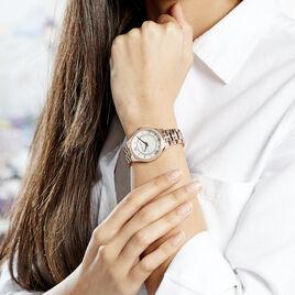 Montre Michael Kors Mini Lauryn Blanc - Montres Femme   Histoire d'Or
