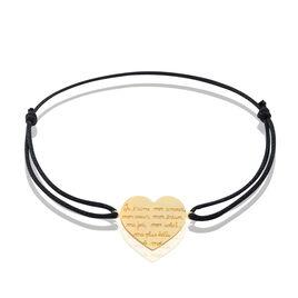 Bracelet Or Jaune - Bracelets Coeur Femme | Histoire d'Or