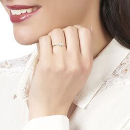Bague Catia Or Blanc Diamant - Bagues avec pierre Femme | Histoire d'Or