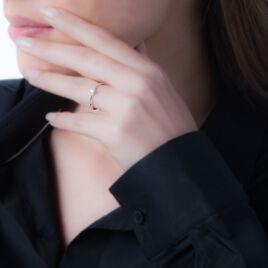 Bague Solitaire Fiona Or Blanc Péridot - Bagues solitaires Femme | Histoire d'Or