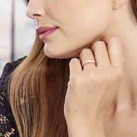 Bague Orlanda Argent Rose Oxyde De Zirconium - Bagues avec pierre Femme | Histoire d'Or
