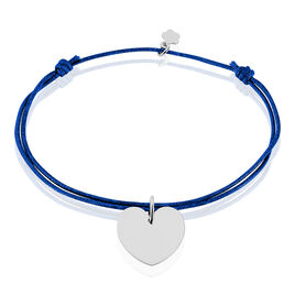Bracelet Paula Argent Rhodie - Bracelets cordon Femme | Histoire d'Or
