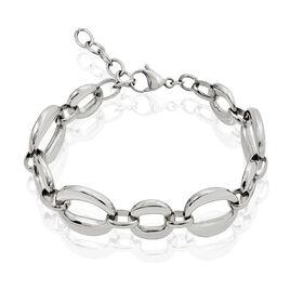 Bracelet Aya Acier Blanc - Bracelets fantaisie Femme   Histoire d'Or