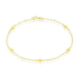 Bracelet Brigit Pastilles Or Jaune - Bracelets chaîne Femme | Histoire d'Or