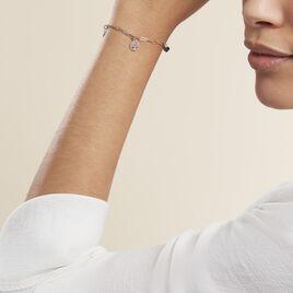 Bracelet Taola Argent Blanc - Bracelets Arbre de vie Femme   Histoire d'Or