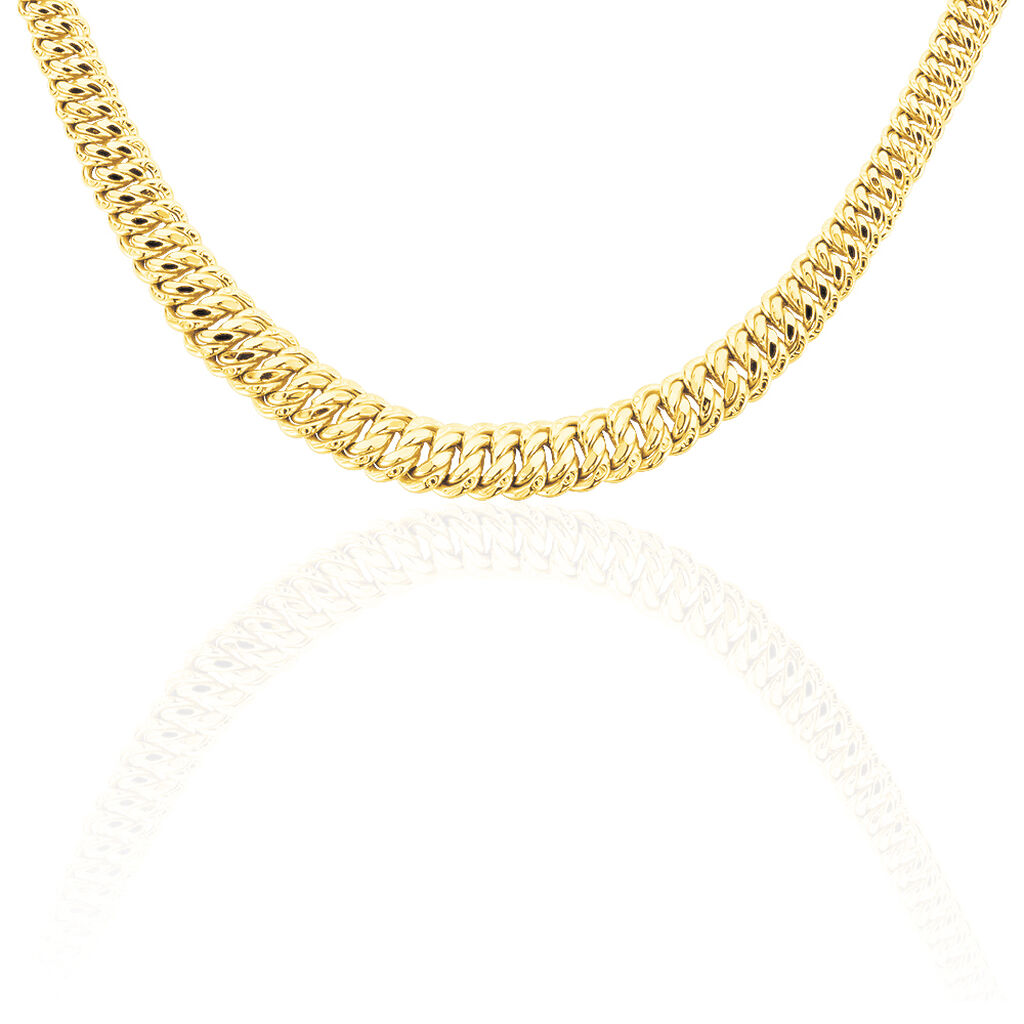 Collier Maille Americaine Chute Or Jaune - Chaines Femme   Histoire d'Or