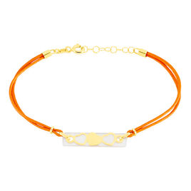 Bracelet Endza Or Jaune Nacre - Bracelets Coeur Femme | Histoire d'Or