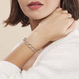 Bracelet Christia Argent Blanc - Bijoux Femme | Histoire d'Or
