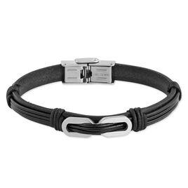 Bracelet Faridahae Acier Blanc - Bracelets fantaisie Homme   Histoire d'Or