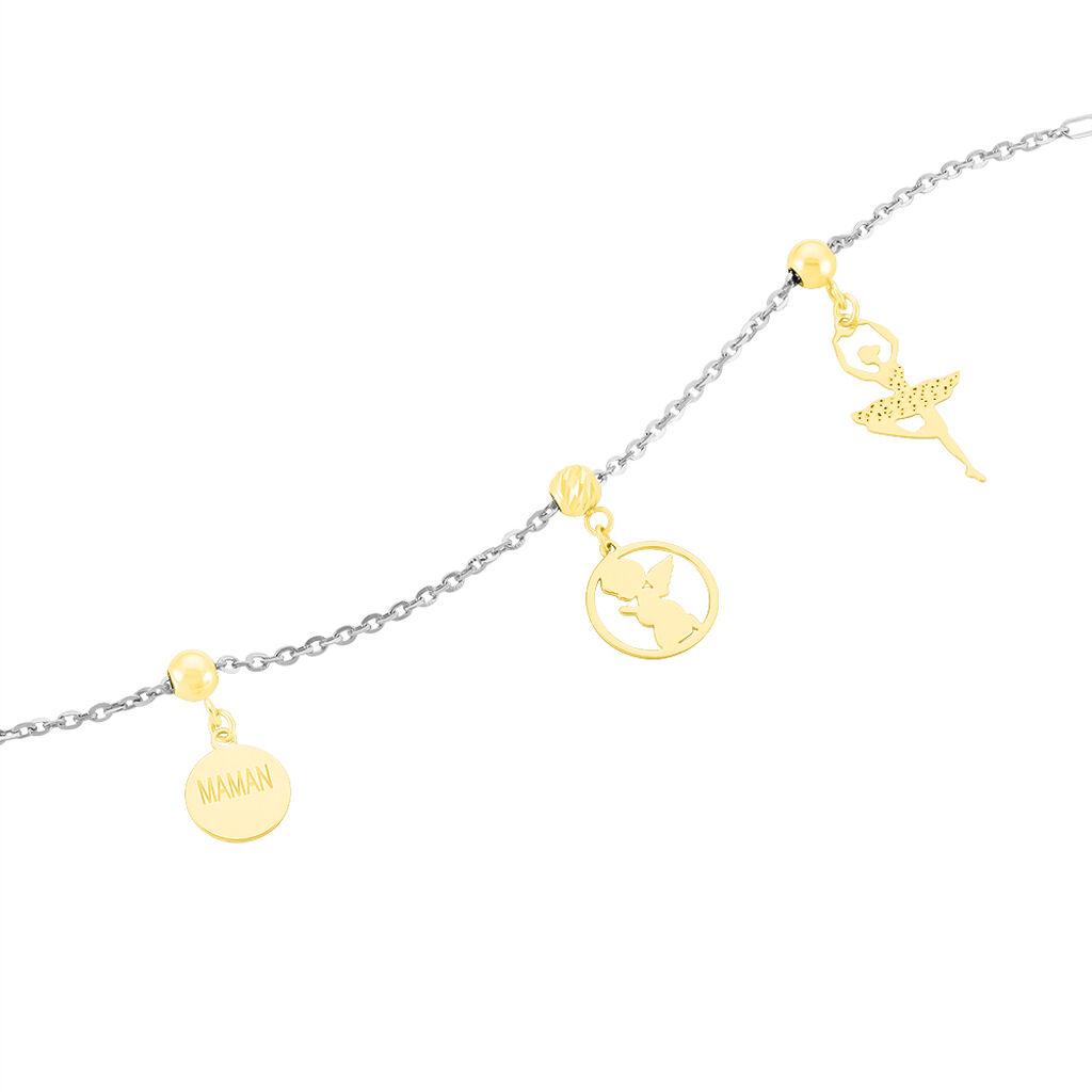 Charms Ivie Or Jaune - Pendentifs Etoile Femme   Histoire d'Or