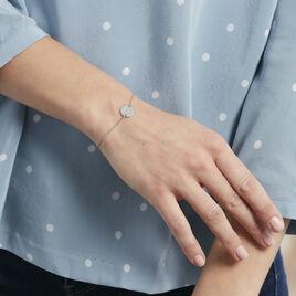 Bracelet Argent Bangkok Pastille Signe Zodiaque Balance - Bracelets Zodiaque Femme | Histoire d'Or