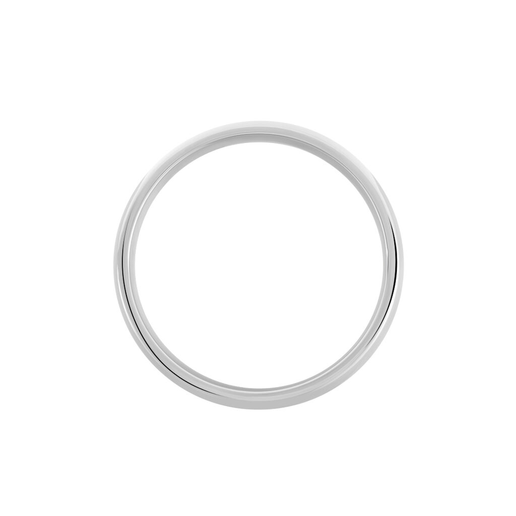 Alliance Apollos Demi Jonc Confort Palladium Blanc - Alliances Femme   Histoire d'Or