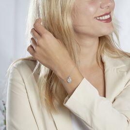Bracelet Wotan Argent Rhodie Oxyde Oxyde - Bracelets fantaisie Femme   Histoire d'Or