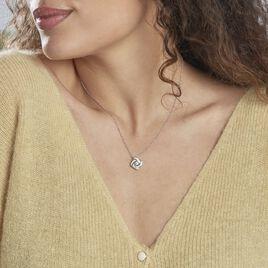 Collier Anasthase Argent Blanc Oxyde De Zirconium - Colliers fantaisie Femme | Histoire d'Or